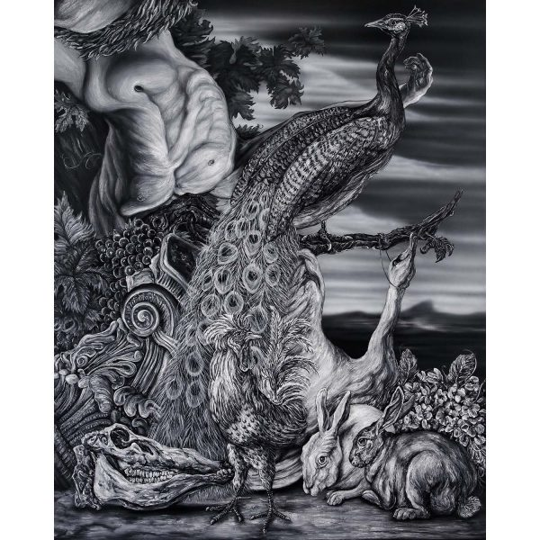 Ritual obra de Miguel Scheroff galeria Hibirida Gallery arte contemporaneo