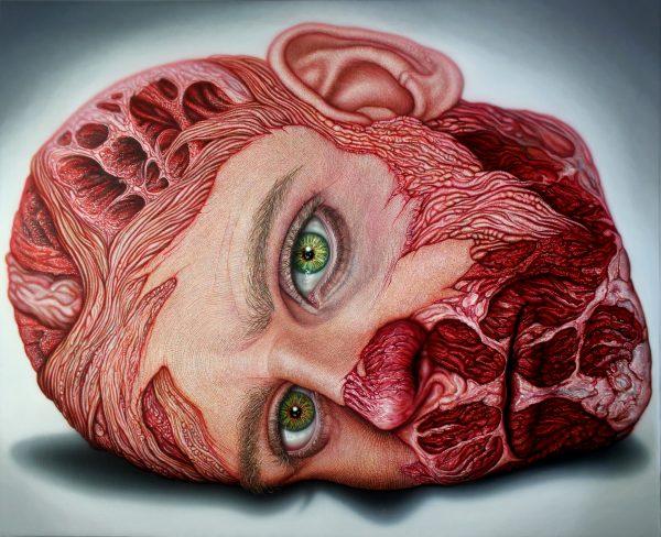 Fles Vanitas IX obra de Miguel Scheroff Hibrida Gallery