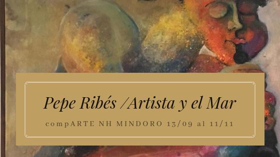 Pepe Ribés en NH MINDORO compARTE Castellón